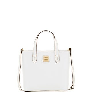Dooney & Bourke Saffiano Mini Waverly (Introduced by Dooney & Bourke at $188 in Apr 2017) - White