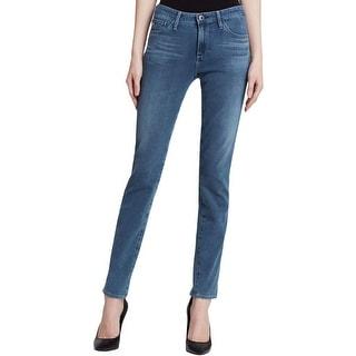 Adriano Goldschmied Womens The Prima Cigarette Jeans Mid Rise Denim