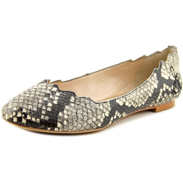 9f6a4728e6677 Shop Sam Edelman Augusta Round Toe Leather Flats - Free Shipping ...