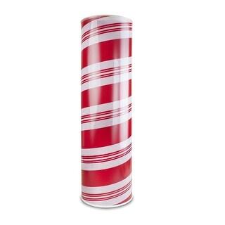 24'' LED Candy Cane Cylinder