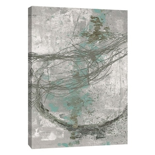 """PTM Images 9-105858  PTM Canvas Collection 10"""" x 8"""" - """"Frayed Abstract 5"""" Giclee Abstract Art Print on Canvas"""