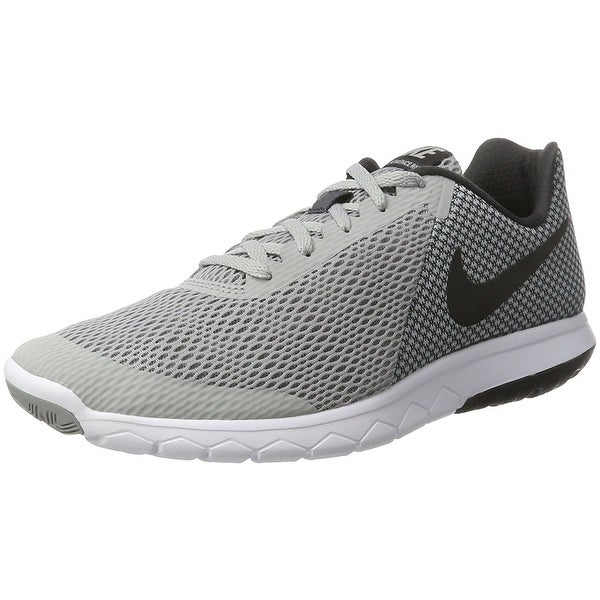 54b5c8271a28 Nike Men  x27 s Flex Experience Rn 6 Wolf Grey Black Anthracite. Click to  Zoom