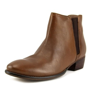 Seychelles Wake Women  Round Toe Leather Brown Ankle Boot