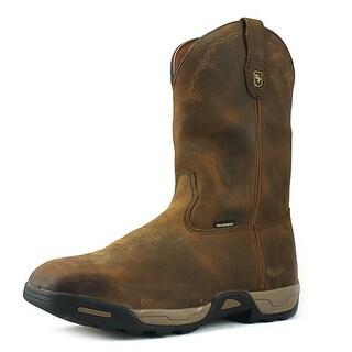 Dan Post Hudson Men  Composite Toe Leather Brown Work Boot