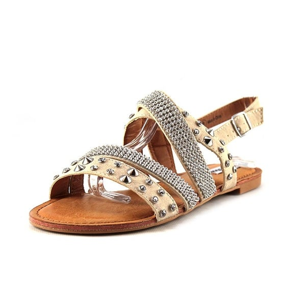Not Rated Abbot Kinney Open-Toe Synthetic Slingback Sandal