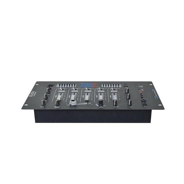 Technical Pro Professional 4 Channel Mixer with USB - SD Card Inputs