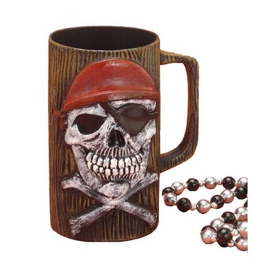 Pirate Beer Mug Halloween Costume Accessory