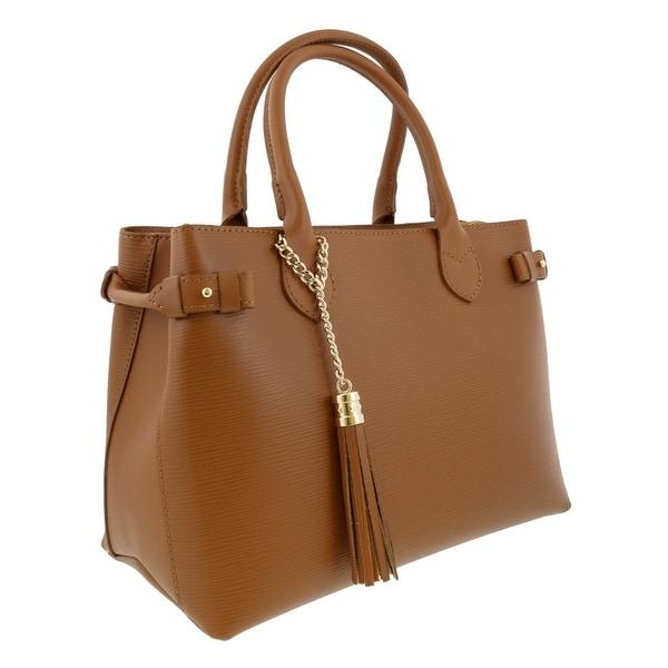 HS Collection HS8435 CU LIZA Tan Satchel/Shoulder Bag - 13-10-6
