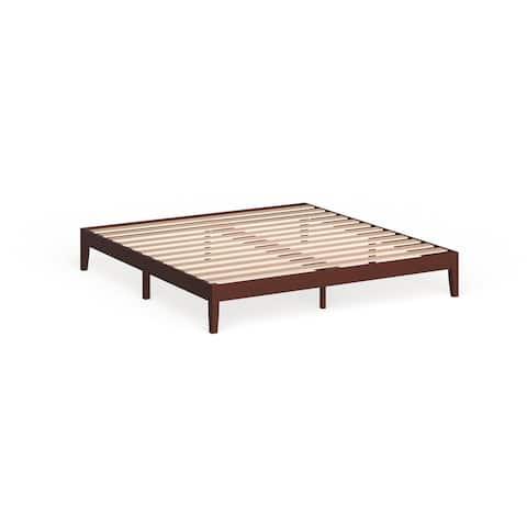 Porch & Den Neron 12-inch Wood King-size Platform Bed