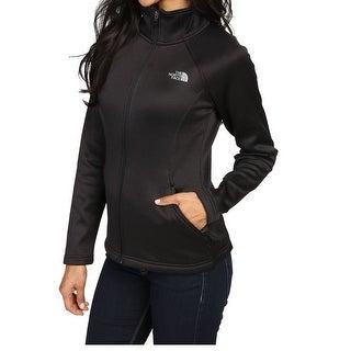 The North Face Black Women's Size XL Mock Neck Active Jacket