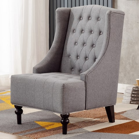 High Back Wingback Chairs Living Room Chairs Shop Online At Overstock