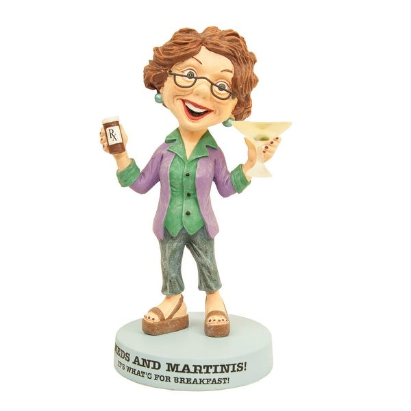 The Boomers Meds and Martinis for Breakfast Figurine