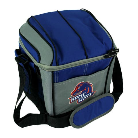 Coleman Boise State Broncos 24 Can Soft Sided Cooler/Lunchbox - Blue - 9.25 X 10.5 X 8 inches