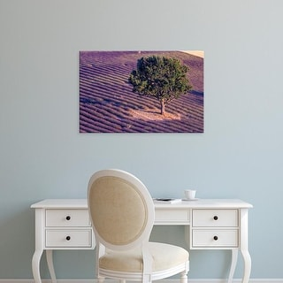 Easy Art Prints Gavriel Jecan's 'Lavender Fields' Premium Canvas Art