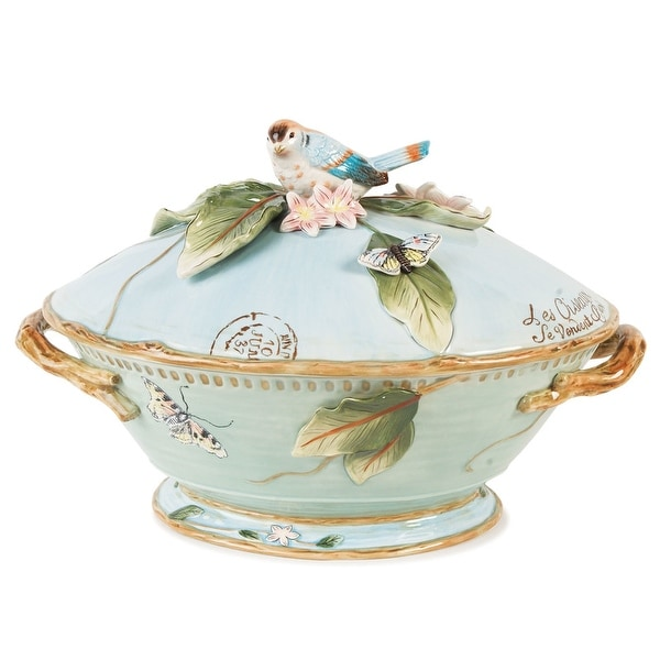 Fitz and Floyd Toulouse 3.5Qt Tureen. Opens flyout.