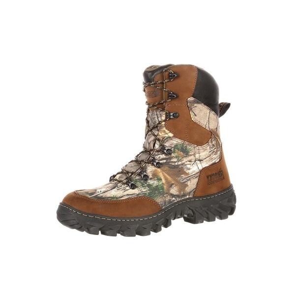 Rocky Outdoor Boots Mens S2V Jungle Hunter Waterproof Brown