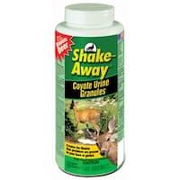 Shake-Away 2851118 Coyote Urea Granules Deer Repellent, 28.5 Oz