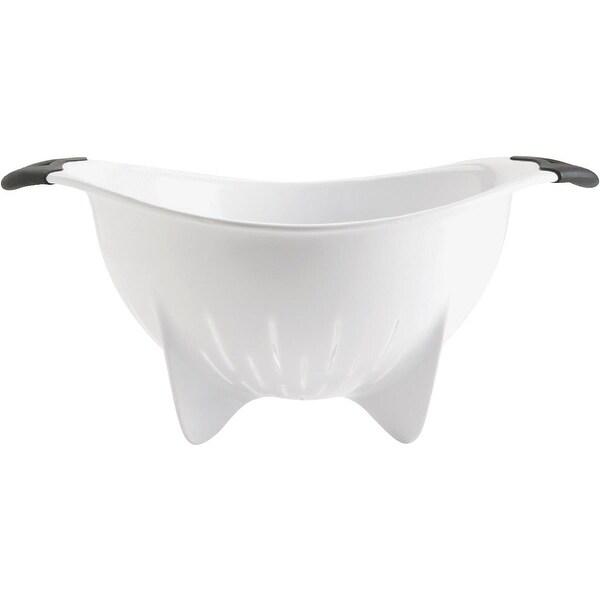 OXO White Plastic Colander