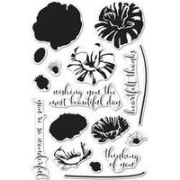 "Color Layering Poppy - Hero Arts Clear Stamps 4""X6"""