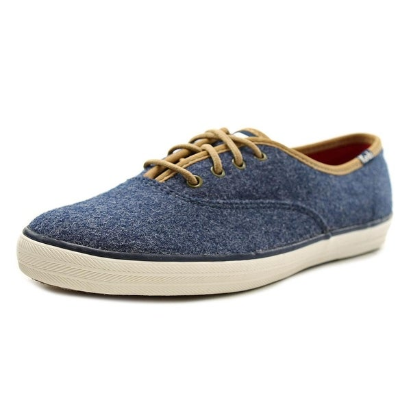 Keds Champion Felt Women Round Toe Canvas Sneakers