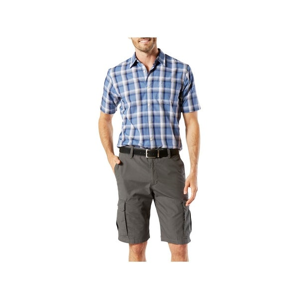 d0a10400ab Shop Dockers Mens Cargo Shorts Deep Pockets Casual - Free Shipping On  Orders Over $45 - Overstock - 22888452