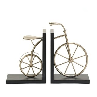 Charming Bicycle Book Ends