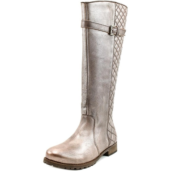 Matisse Coco Round Toe Leather Knee High Boot