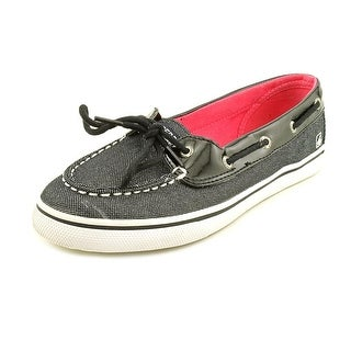 Sperry Top Sider Biscayne 1 Eye Moc Toe Canvas Boat Shoe