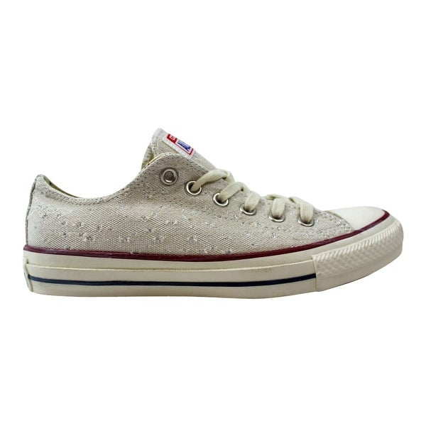 fcbe70055944 Shop Converse Chuck Taylor Ox Natural 547323F Women s - Free ...