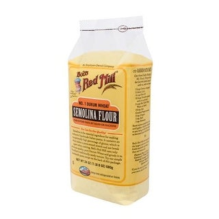 Bob's Red Mill - Semolina Pasta Flour ( 4 - 24 OZ)