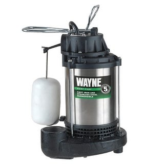 WAYNE CDU 980E 3/4 HP Cast Iron Submersible Sump Pump with Automatic Switch - n/a - N/A