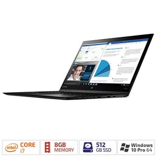 Lenovo ThinkPad X1 Yoga 20JD004UUS Notebook w/ Intel Core i7 (7th Gen) & 8 GB LPDDR3 SDRAM