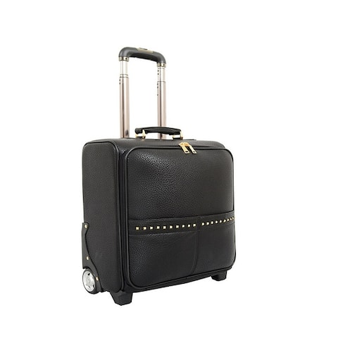 Mellow World Jovi 16 Carry-On Rolling Business Travel Work Laptop Tablet Suitcase