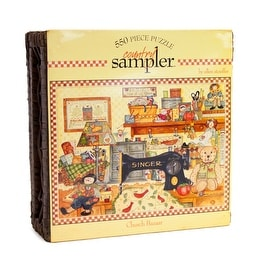 Country Sampler Church Bazaar 550-Piece Puzzle