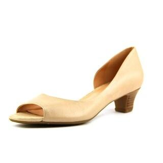 Naturalizer Debra Open Toe Leather Sandals
