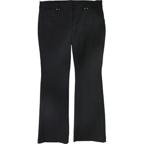 Alfani Womens Ponte-Knit Dress Pants