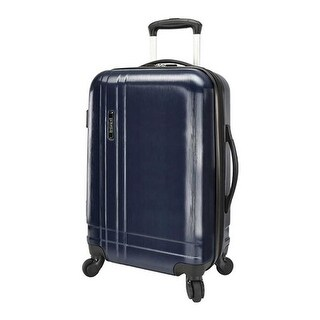 US Traveler 20 Inch Lightweight Expandable Spinner Navy - US One Size (Size None)