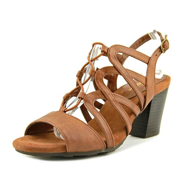 Easy Street Admire Women Brown Burnish Sandals