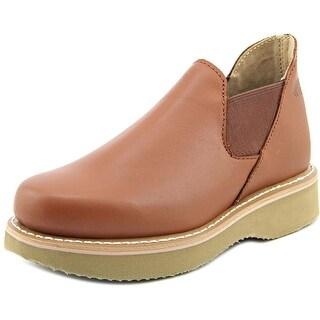 Work America Romeo Round Toe Leather Work Boot