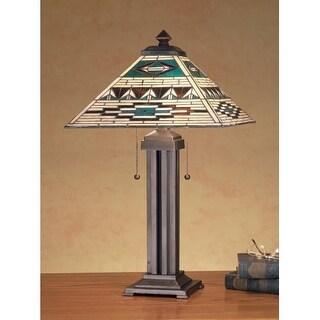 Meyda Tiffany 47598 Tiffany Two Light Table Lamp - n/a