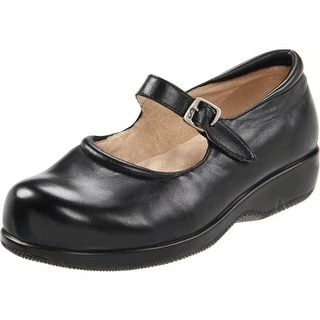 SoftWalk Womens Jupiter Leather Round Toe Mary Janes