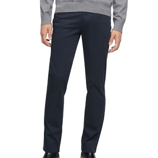Link to Calvin Klein Mens Chino Pants Blue Size 38x30 Slim Fit Tapered Stretch Similar Items in Big & Tall