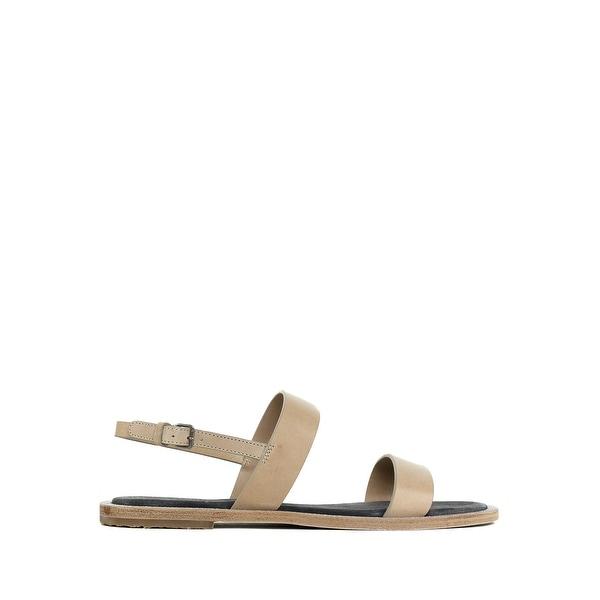 Brunello Cucinelli Womens Yellow Leather Monili Buckle Sandals IT37//US7~RTL$1200