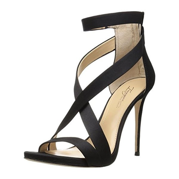 Imagine Vince Camuto Womens Devin Dress Sandals Satin Heels