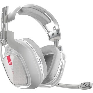 Astro Gaming 3AH4T-XOX9W-504 Astro A40 TR Headset - Stereo - White - Mini-phone - Wired - 48 Ohm - 20 Hz - 24 kHz -