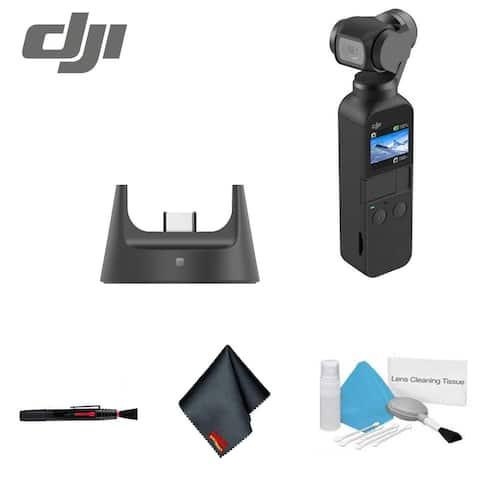 DJI Osmo Pocket Handheld 3 Axis Gimbal Stabilizer Integrated Camera
