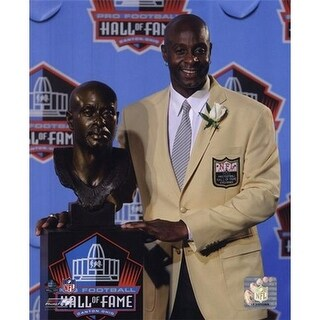 Photofile Jerry Rice 2010 NFL Hall of Fame Induction Sports Photo -