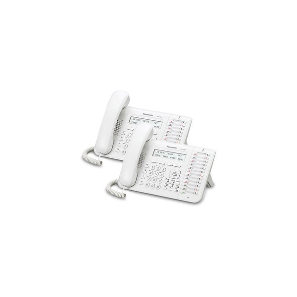 Panasonic-KX-DT543-White (2 Pack) 24 Button 3-line Digital Telephone