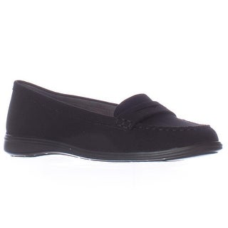 Aerosoles Limon Tree Casual Moccasins - Black