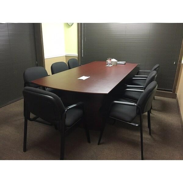 Shop Mayline Medina W X D Conference Table Free Shipping - Medina conference table